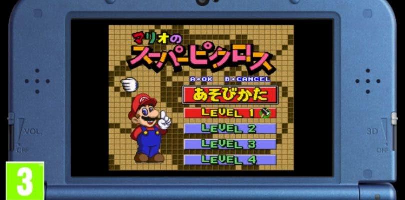 Presentado el tráiler de Mario's Super Picross de New Nintendo 3DS