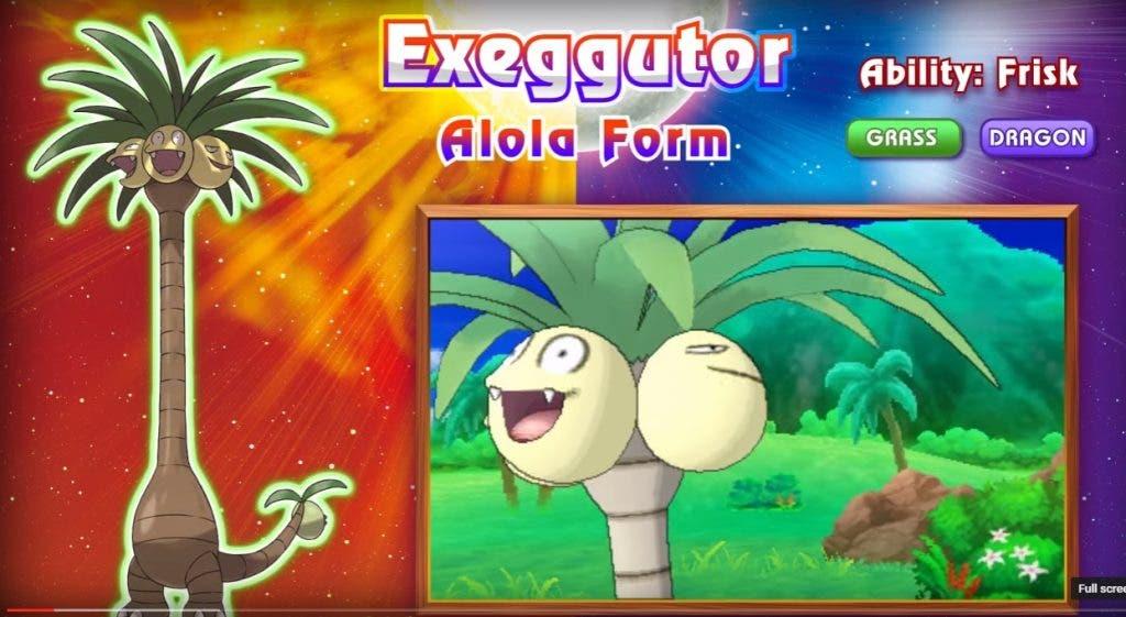 exeggutor alola Pokémon Sol/Luna