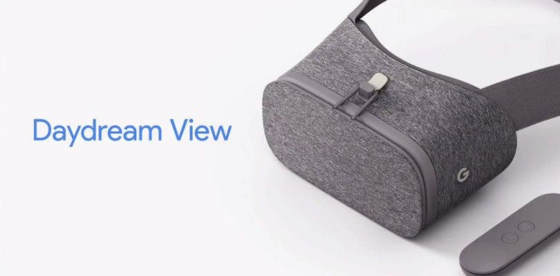 Google anuncia su nuevo headset Daydream View VR