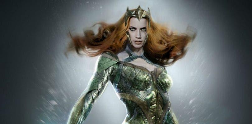 Primer vistazo a Amber Heard como Mera en Justice League