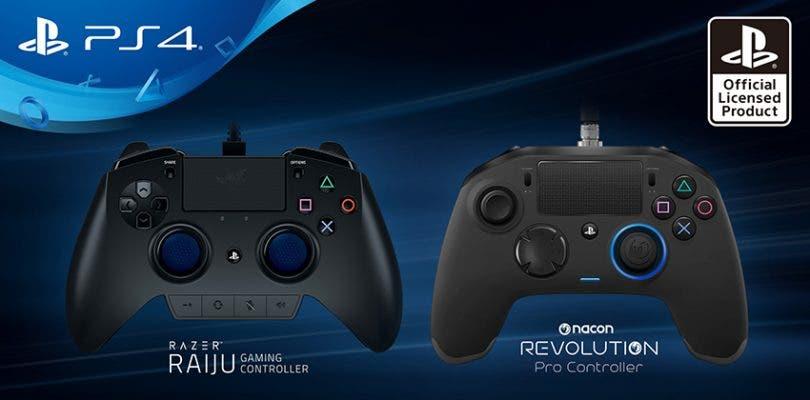 Sony presenta los mandos para PlayStation 4 de Razer y Nacon