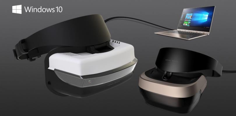 Microsoft anuncia unas nuevas gafas VR para Windows 10