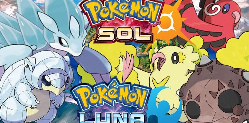 Filtrados todos los Pokémon de Sol y Luna mediante su demo