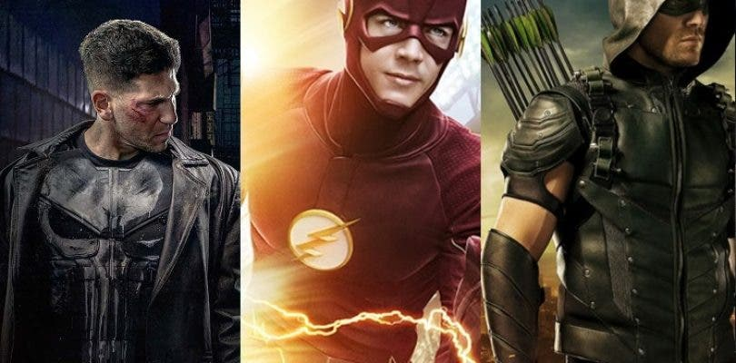 Nuevas fotos de rodaje de The Punisher y promos de Arrow y Flash