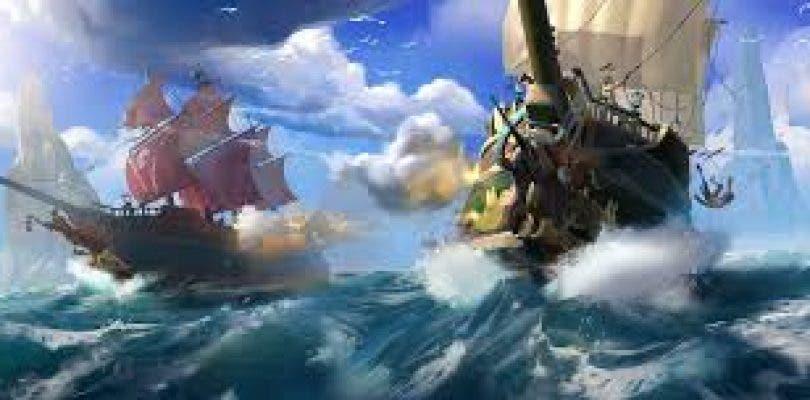 Se muestra un gameplay de Sea of Thieves