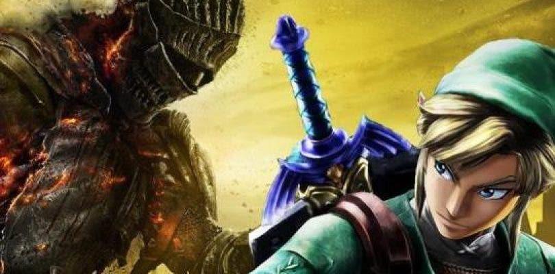 Miyazaki habla sobre la comparación entre Dark Souls y Zelda