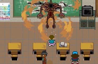 Stranger Things recibe un homenaje en forma de juego de 8 bits