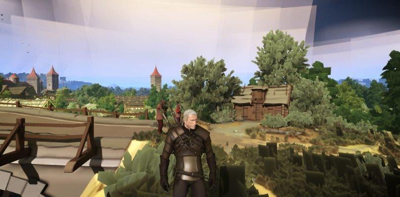 Juega a The Witcher 3 con gráficos de un título de Nintendo 3DS