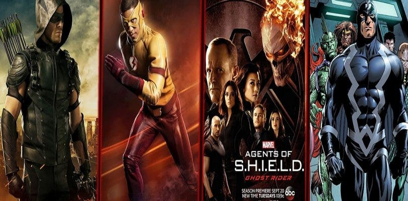 Promo de Flash, Arrow y Agentes de SHIELD y fecha de Los Inhumanos