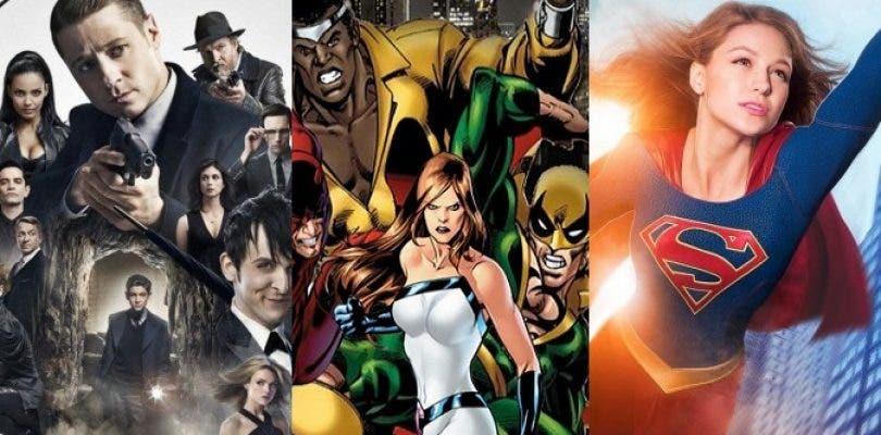 Nuevos fichajes en The Defenders y promos de Gotham y Supergirl