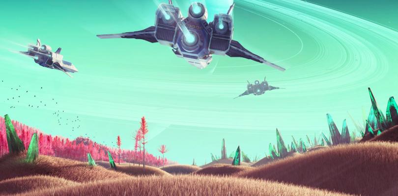 Descubren un nuevo vehículo tras la actualización de No Man´s Sky