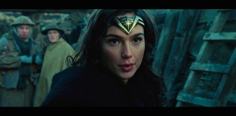 Nueva imagen de Wonder Woman en acción