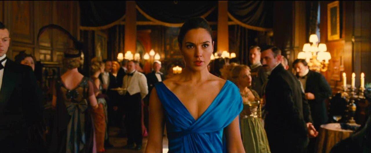 Imagen de Gal Gadot grabó algunas escenas de Wonder Woman embarazada