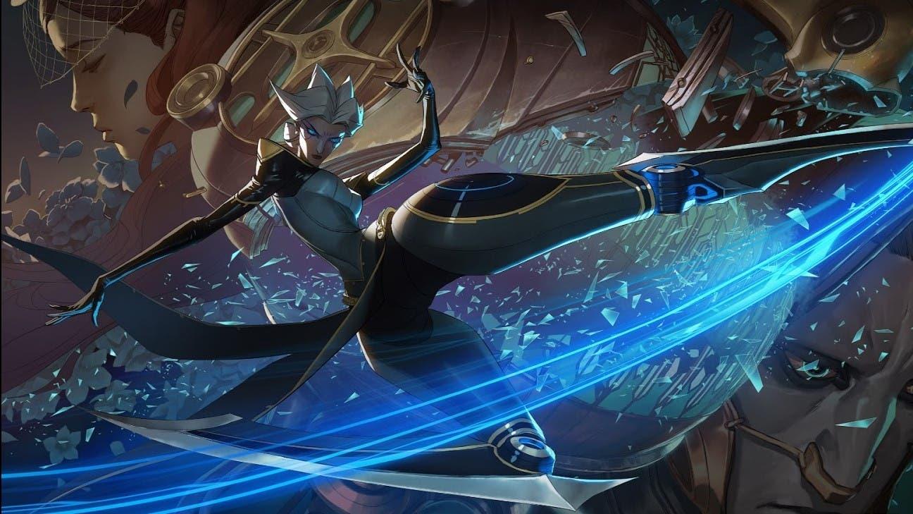Imagen de League of Legends - Presentada Camille y sus habilidades