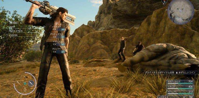 Final Fantasy XV recibe un nuevo gameplay mostrando sus mejoras