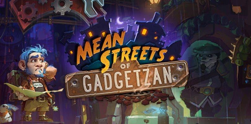 'Mafias de Gadgetzan' es la nueva expansión de Hearthstone