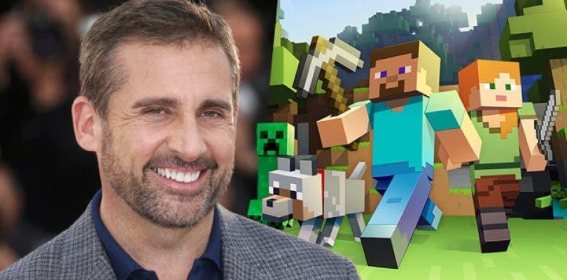 Steve Carell podría protagonizar la película de Minecraft
