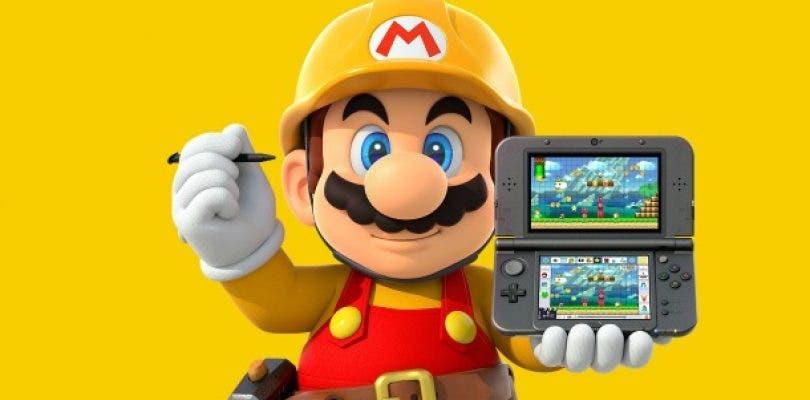 Super Mario Maker for Nintendo 3DS abre web americana oficial