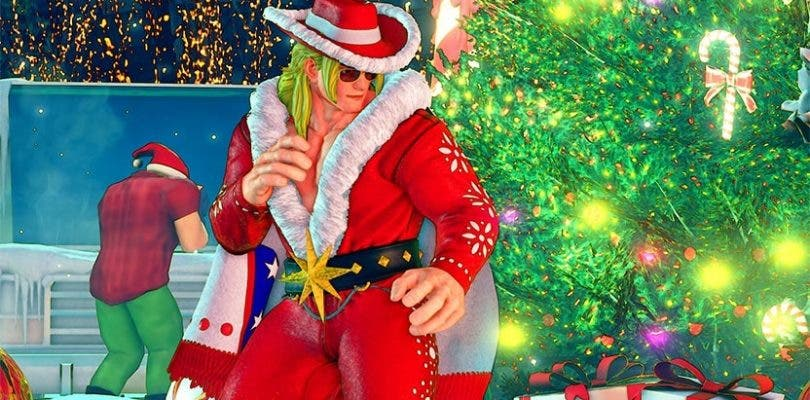Street Fighter V se viste de Navidad con su último DLC