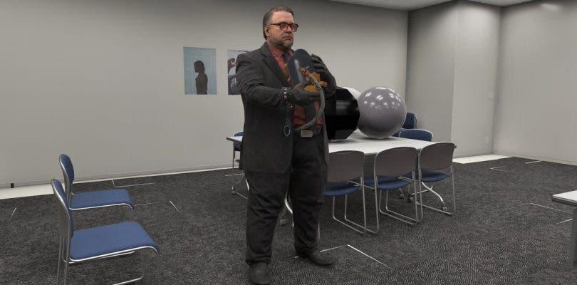 Guillermo del Toro sólo es un actor más en Death Stranding