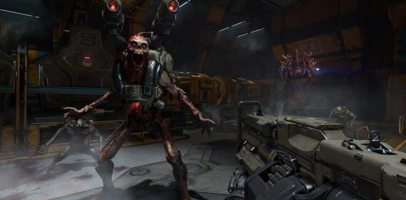 DOOM vuelve a añadirse a la lista de juegos mejorados en Xbox One X