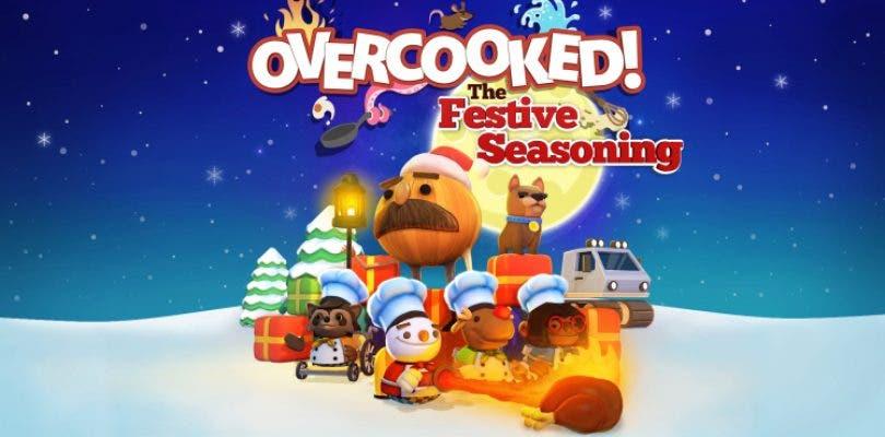 Overcooked recibirá el DLC «The Festive Seasoning» gratis
