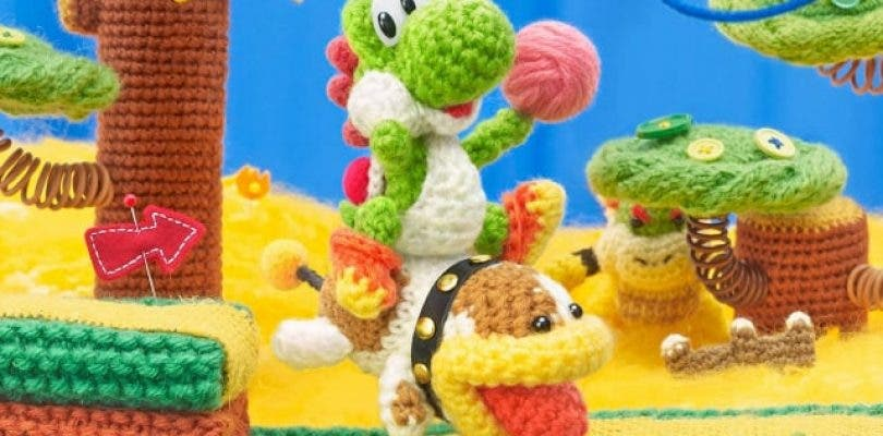 Nuevo vídeo de Poochy & Yoshi's Woolly World