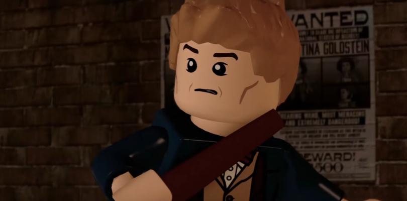 LEGO Dimensions enseña a Newt Scamander en un nuevo tráiler