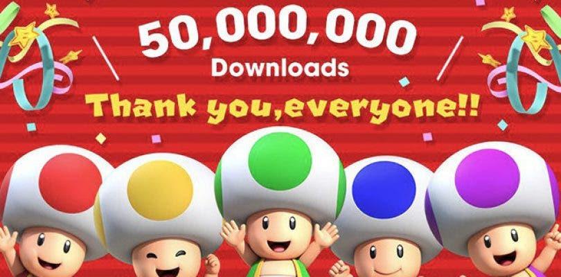 Super Mario Run ya supera los 50 millones de descargas