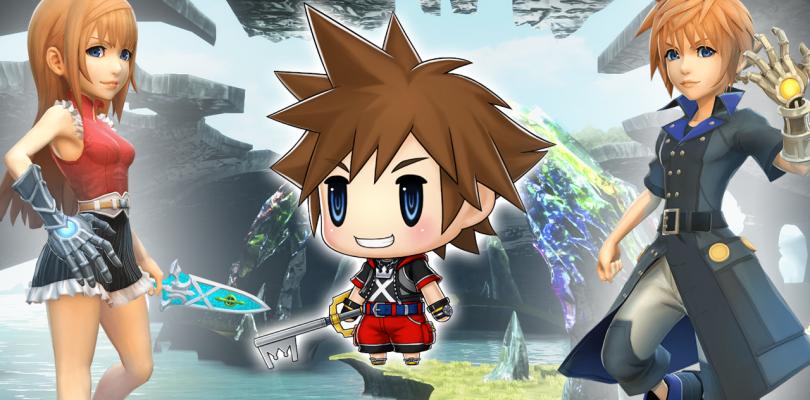 Sora ya tiene fecha de llegada a World of Final Fantasy