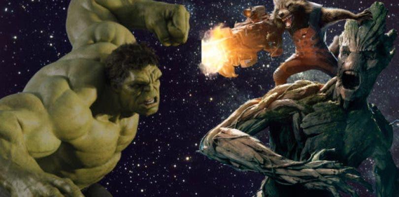 Hulk se podría enfrentar a Groot en Avengers: Infinity War