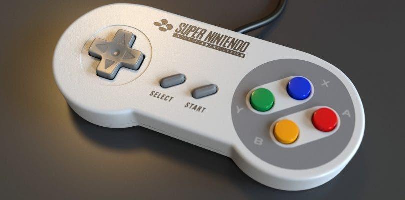 Nintendo registra una marca con una imagen del mando de la SNES