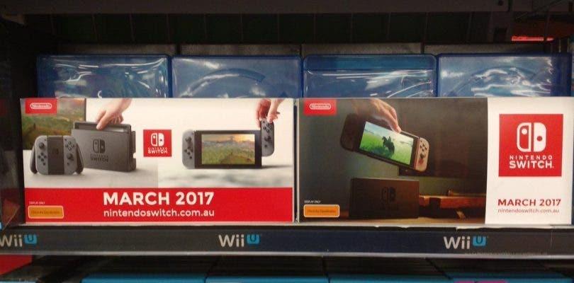 Se han avistado anuncios de Nintendo Switch en GameStop
