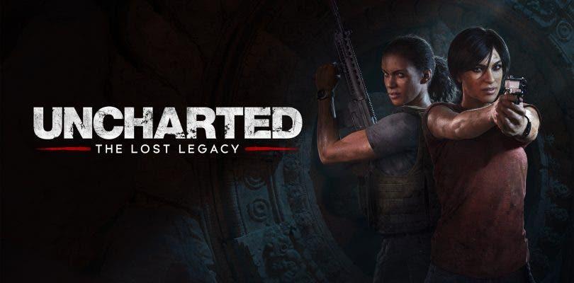 Uncharted: El Legado Perdido detalla su peso digital en PlayStation 4