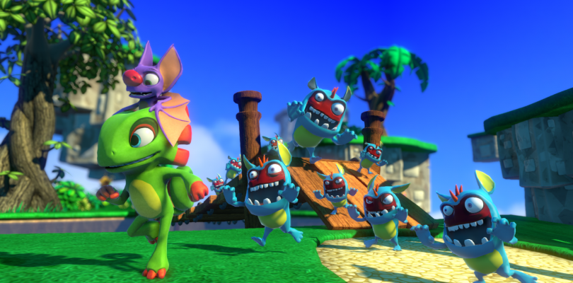 Nuevo gameplay de Yooka-Laylee en PlayStation 4