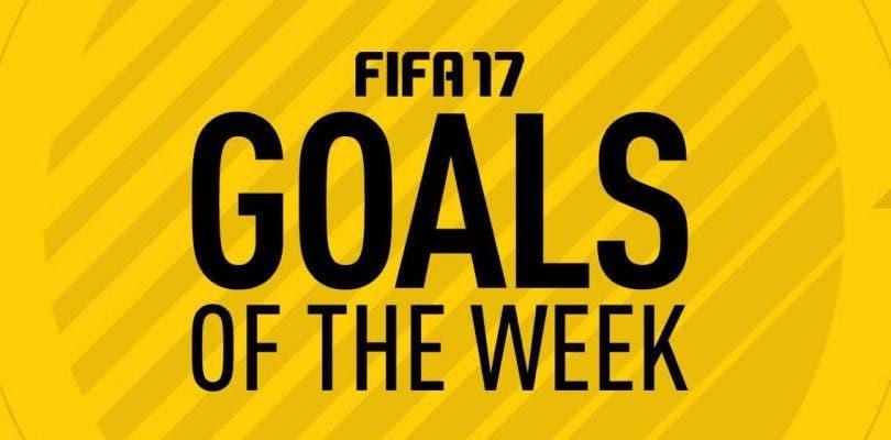 Los mejores goles de la semana en FIFA 17 – Ronda 7