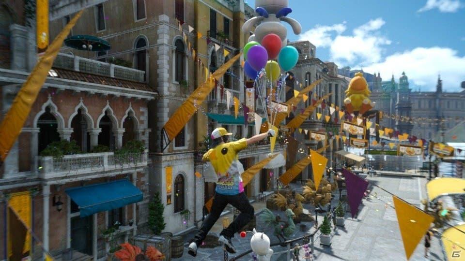 Moogle Chocobo Carnival Final Fantasy XV