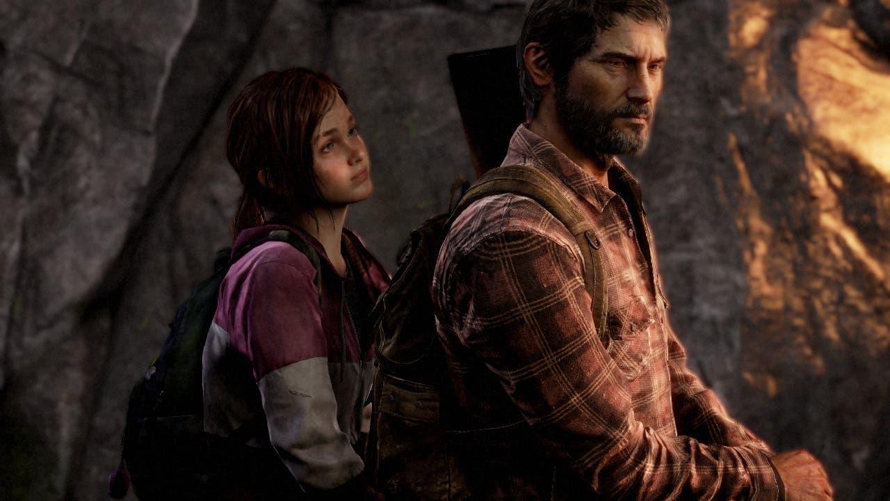 Ellie y Joel caminando