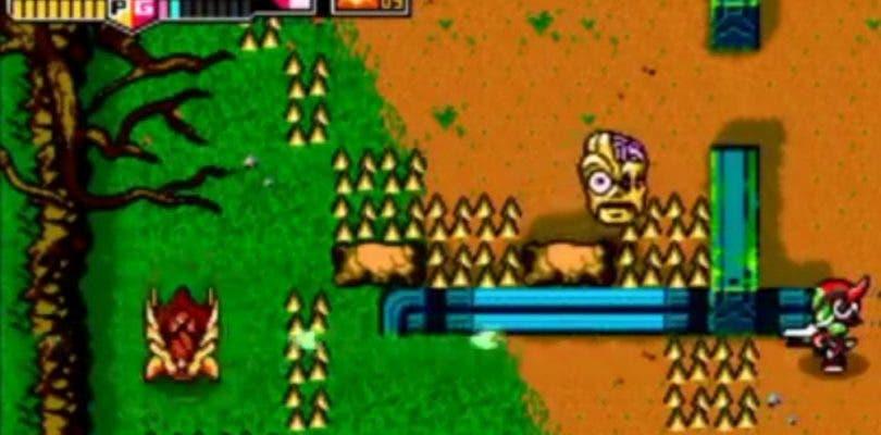 Primer gameplay de Blaster Master Zero para Nintendo 3DS