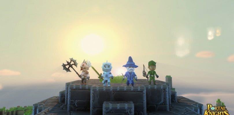 Ya disponible la demo de Portal Knights para PS4 y Xbox One