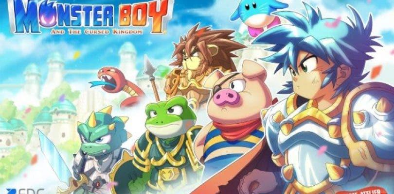 Monster Boy and the Cursed Kingdom llegará a Nintendo Switch