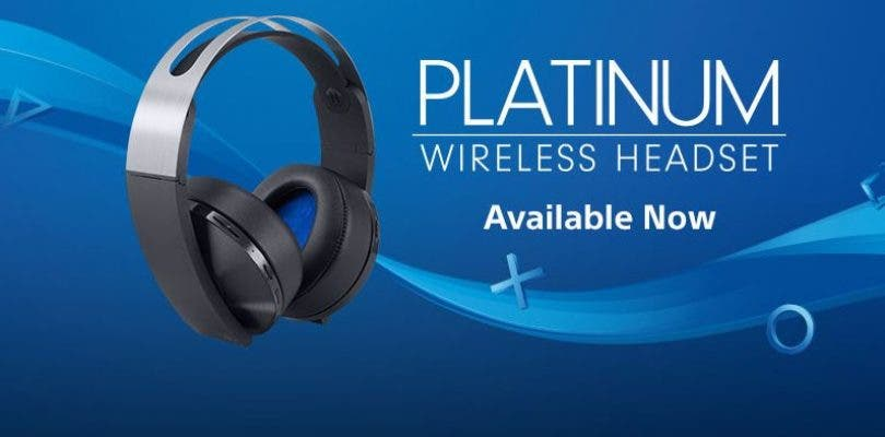 Platinum Headset Sony