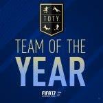 Disponible el TOTY al completo en FIFA 17 Ultimate Team