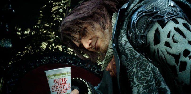 Los antagonistas de Final Fantasy nos invitan a unos ricos fideos