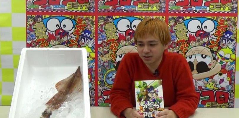 Splatoon presenta el segundo tomo de su manga oficial