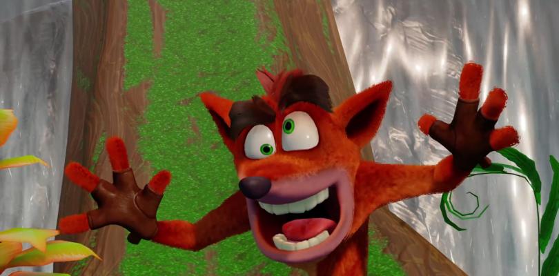 La madrugada del lunes al martes habrá un anuncio de Crash Bandicoot