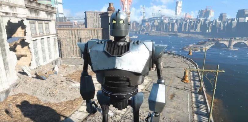 Un mod en Fallout 4 cambia a Liberty Prime por el Gigante de Hierro