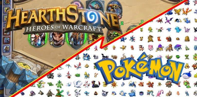 Esta mezcla de Pokémon y Hearthstone te sorprenderá