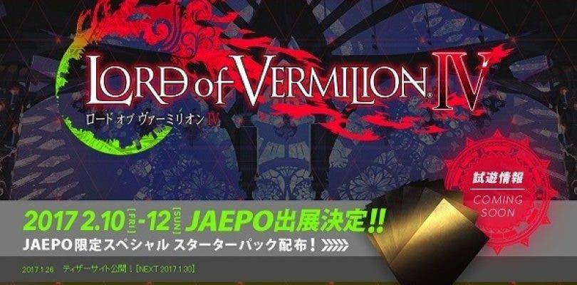 Square Enix ha anunciado Lord of Vermilion IV