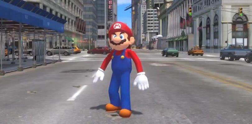 Un mod convierte GTA IV en Super Real Mario Odyssey